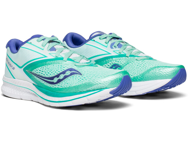 new concept 7a7ec f2fd0 saucony Kinvara 9 Shoes Women aqua/white